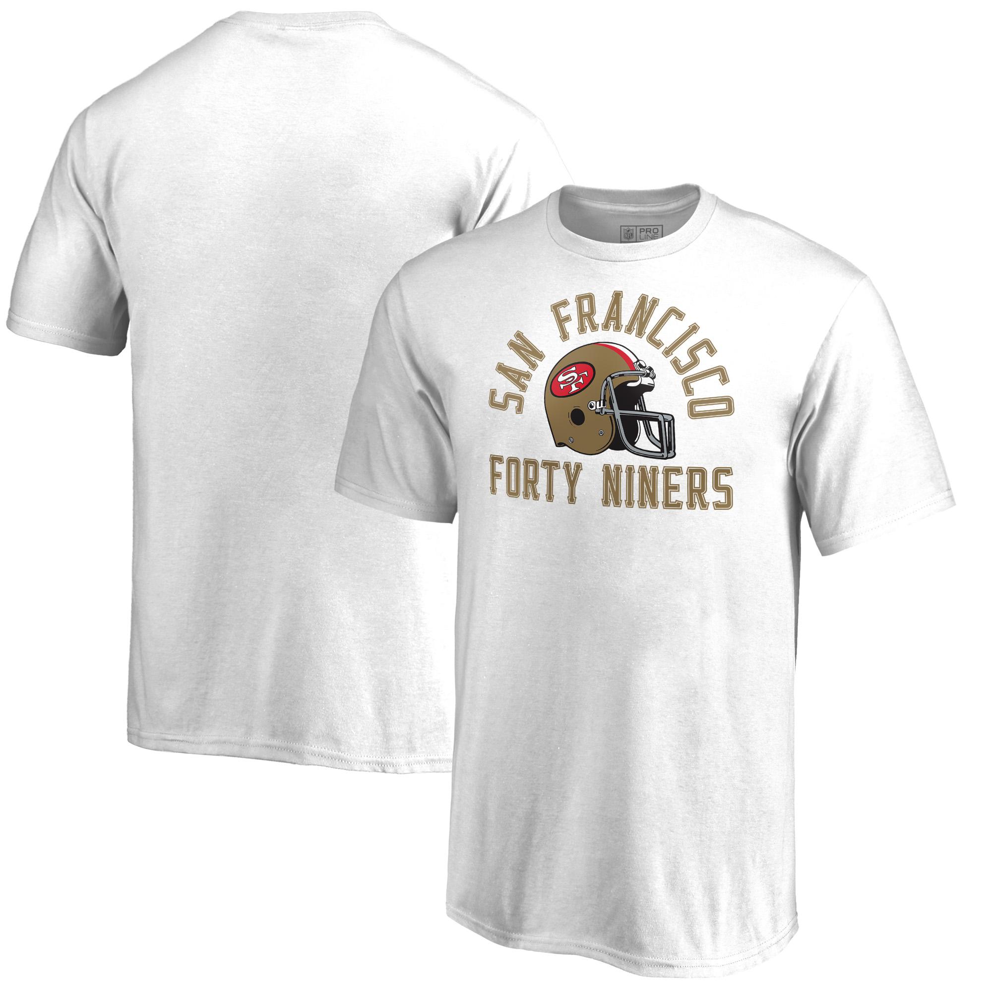 San Francisco 49ers Fanatics Branded Youth Quinten Helmet T-Shirt - White