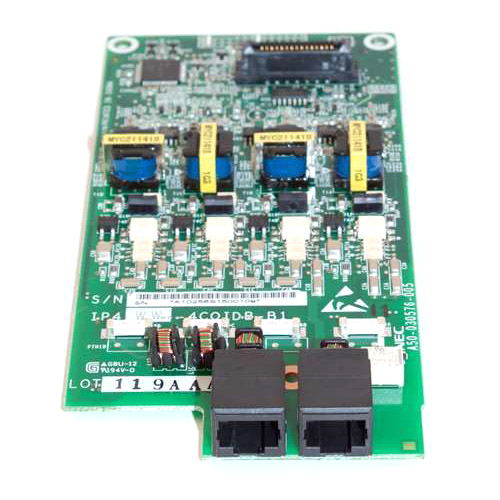 """NEC 1100022 4-Port CO Trunk Daughter Board"""