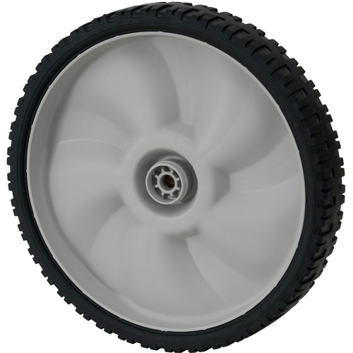 "MTD 11"" Plastic Wheel with Spacers, Gray"