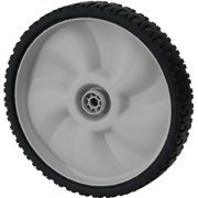 """MTD 11"""" Plastic Wheel with Spacers, Gray"""