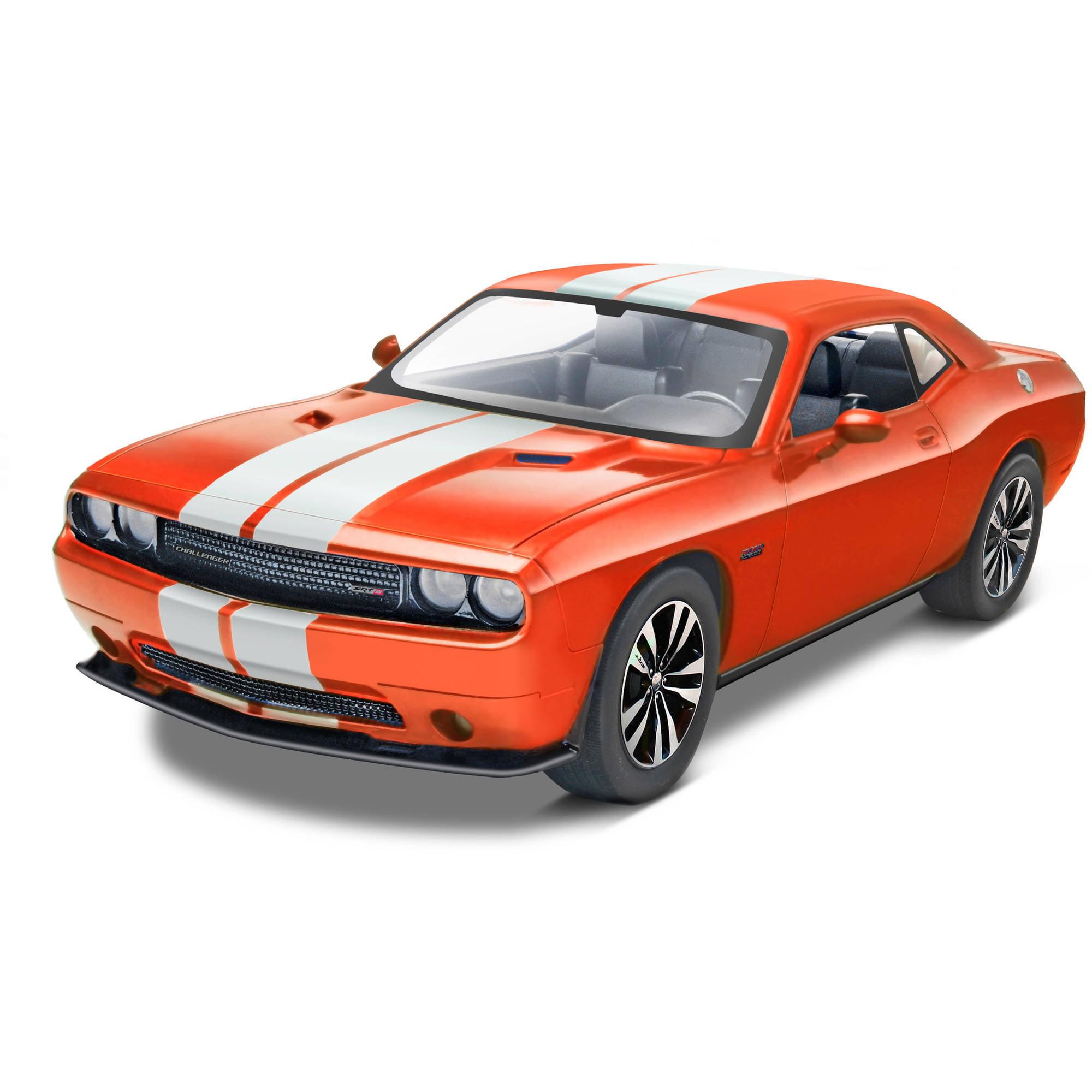 85-4358 Revell Pre-Decorated Orange 2013 Challenger SRT8 Model Kit by Generic