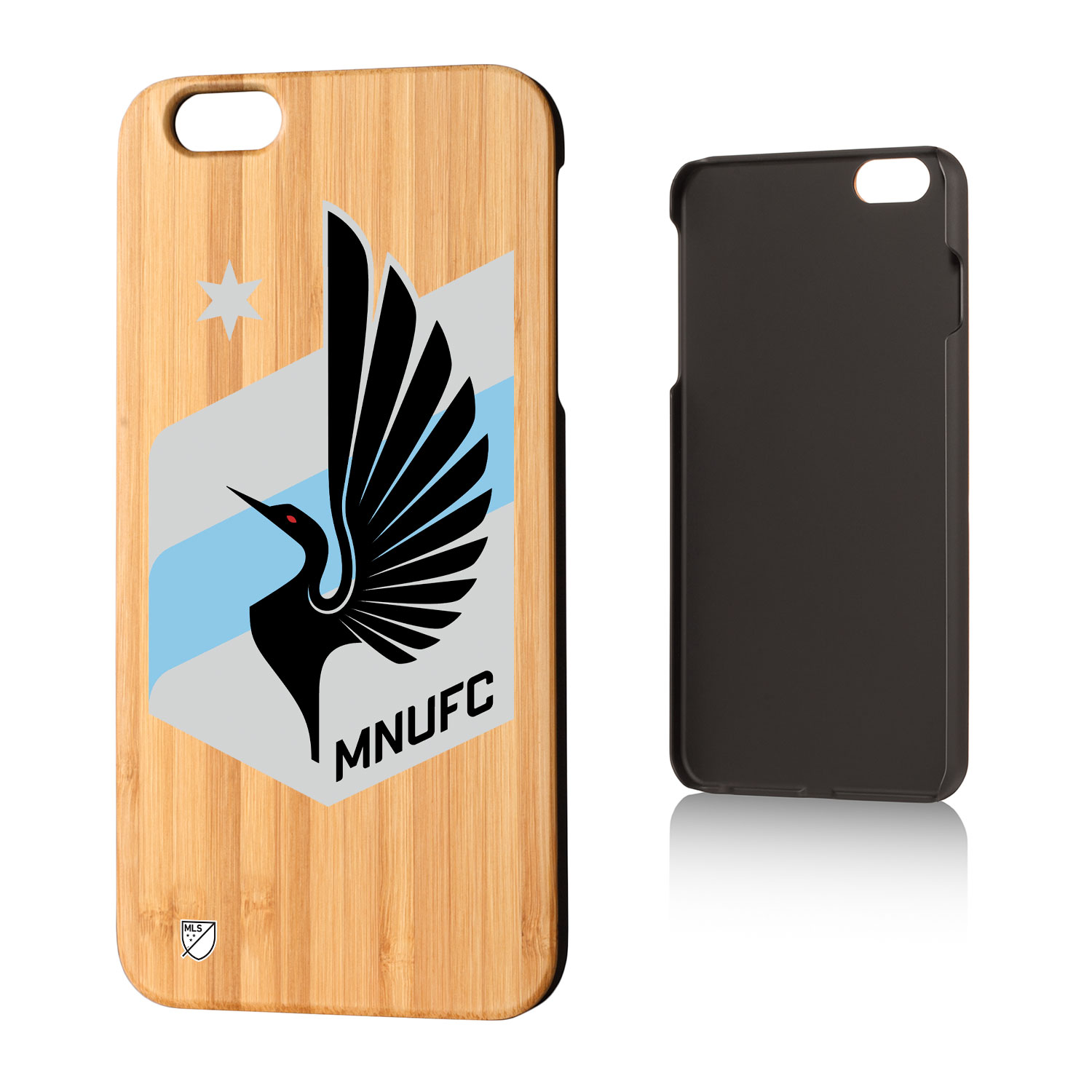 Minnesota United FC MNUFC Insignia Bamboo Case for iPhone 6 Plus