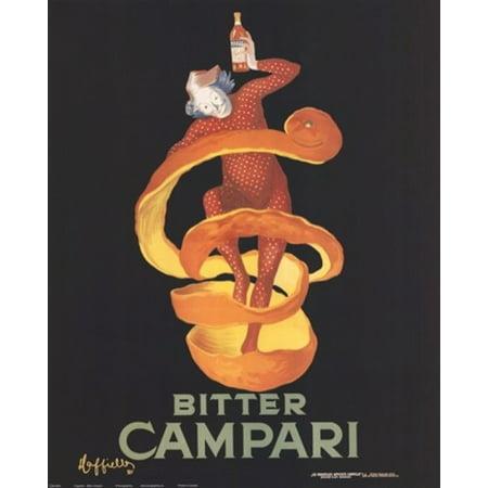 Bitter Campari Rolled Canvas Art   Leonetto Cappiello  16 X 20