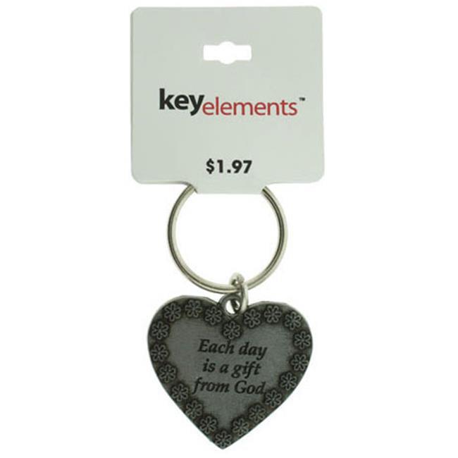 Bulk Buys Heart Key Chain - Case of 60