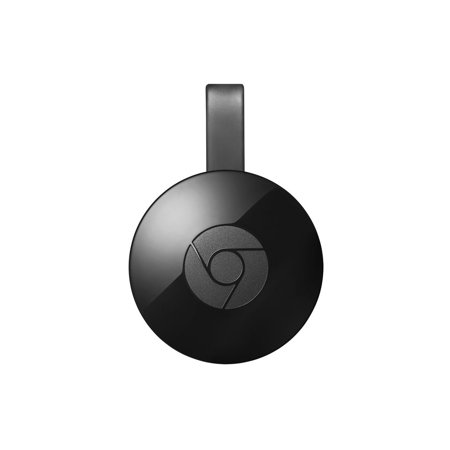 Google Chromecast Streaming Media Player (2nd Gen/2015 Model) – Black