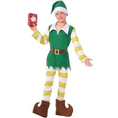 Elf Child Costume (M) - Kids Elf Costumes