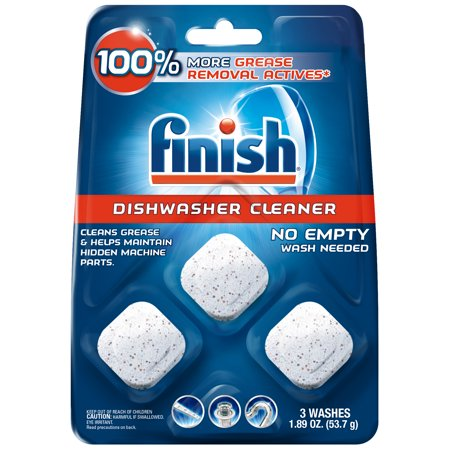 Finish In-Wash Dishwasher Cleaner: Clean Hidden Grease & Grime,
