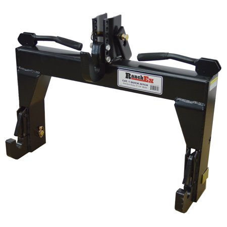 Ranchex Cat  1 Quick Hitch  Adjustable Top Bracket  Includes Top Pins And Adapter Bushings