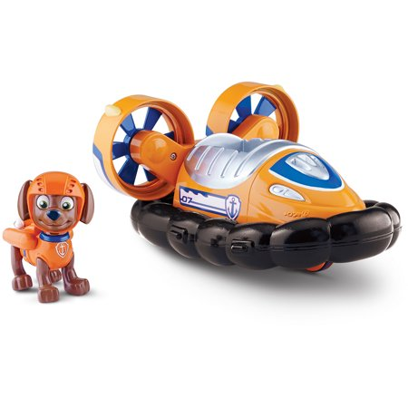 Nickelodeon Paw Patrol   Zumas Hovercraft  Vechicle And Figure