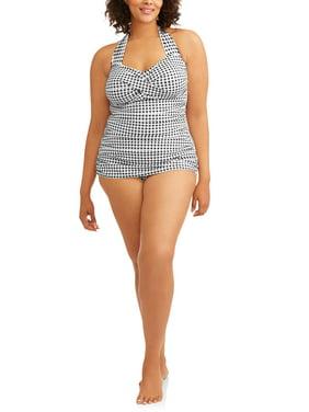 31e487d750662 Womens Plus Swimwear - Walmart.com