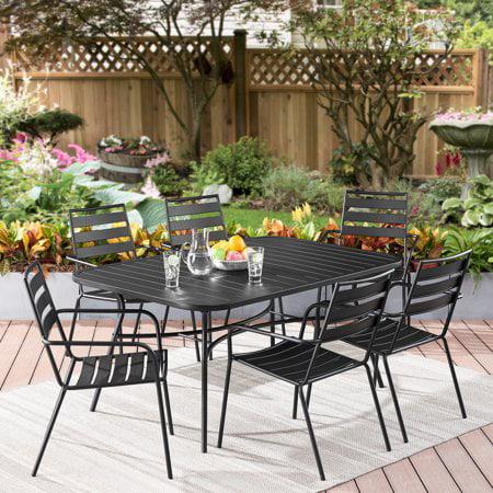 Better Homes & Gardens Morgan Hill 7-Piece Patio Dining Set