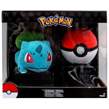 Pokemon Bulbasaur & Poke Ball Plush ()