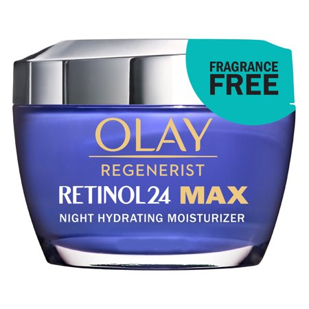 Olay Regenerist Retinol 24 MAX Night Cream Face Moisturizer, 1.7 oz