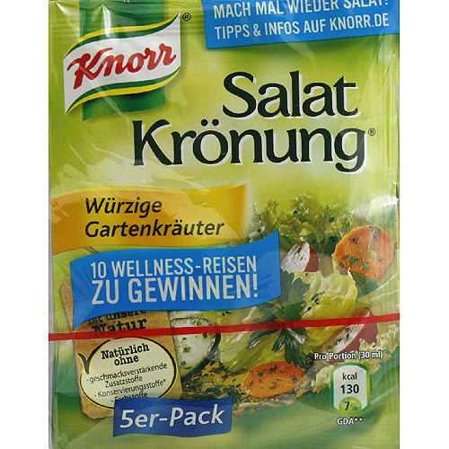 Knorr Garden Herbs Salad Dressing Mix, 2.2 oz, (Pack of 15)