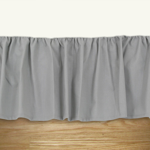 Brite Ideas Living Solid Ruffled Bed Skirt