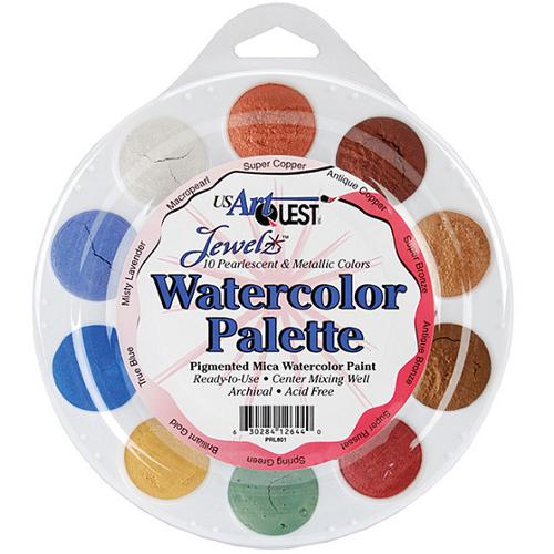 Jewelz Acid-Free Watercolor Palette
