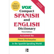 Vox Compact Spanish and English Dictionary, Third Edition (Paperback) (Paperback)