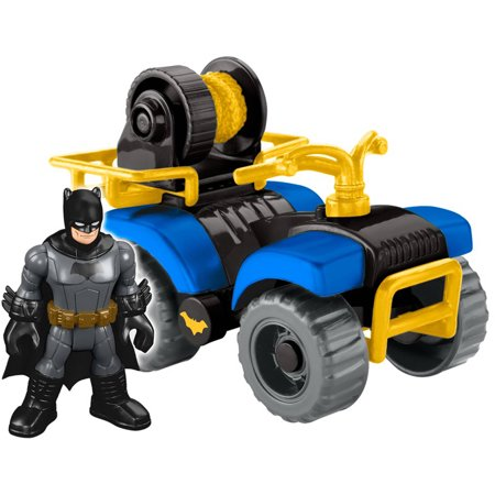 Imaginext DC Super Friends Streets of Gotham City Batman & ATV (Female Batman)