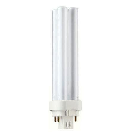 Philips 18w 2700k PL-C ALTO 18W/827/4P Double Tube 4-Pin Fluorescent Light Bulb