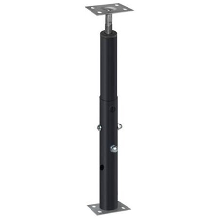 J-PRO-100 4 ft. 8 in. - 8 ft. 4 in. 11 Gauge Adjustable Jack Post 8' Indoor Post Mount