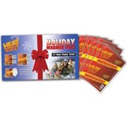 Heat Factory Holiday Gift Warmer Pack: 6 Pair Hand, 3 Pair Toe, and 3 Large Body Heat Warmers