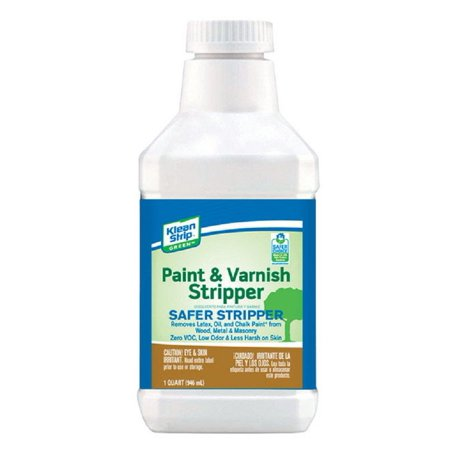 Klean Strip QKGS75013 Green Paint and Varnish Remover, 1 Quart, Liquid