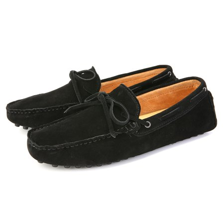 Meigar Men's Loafers Driving Moccasins Soft Suede Leather Penny Flats Casual Shoes - image 3 de 8