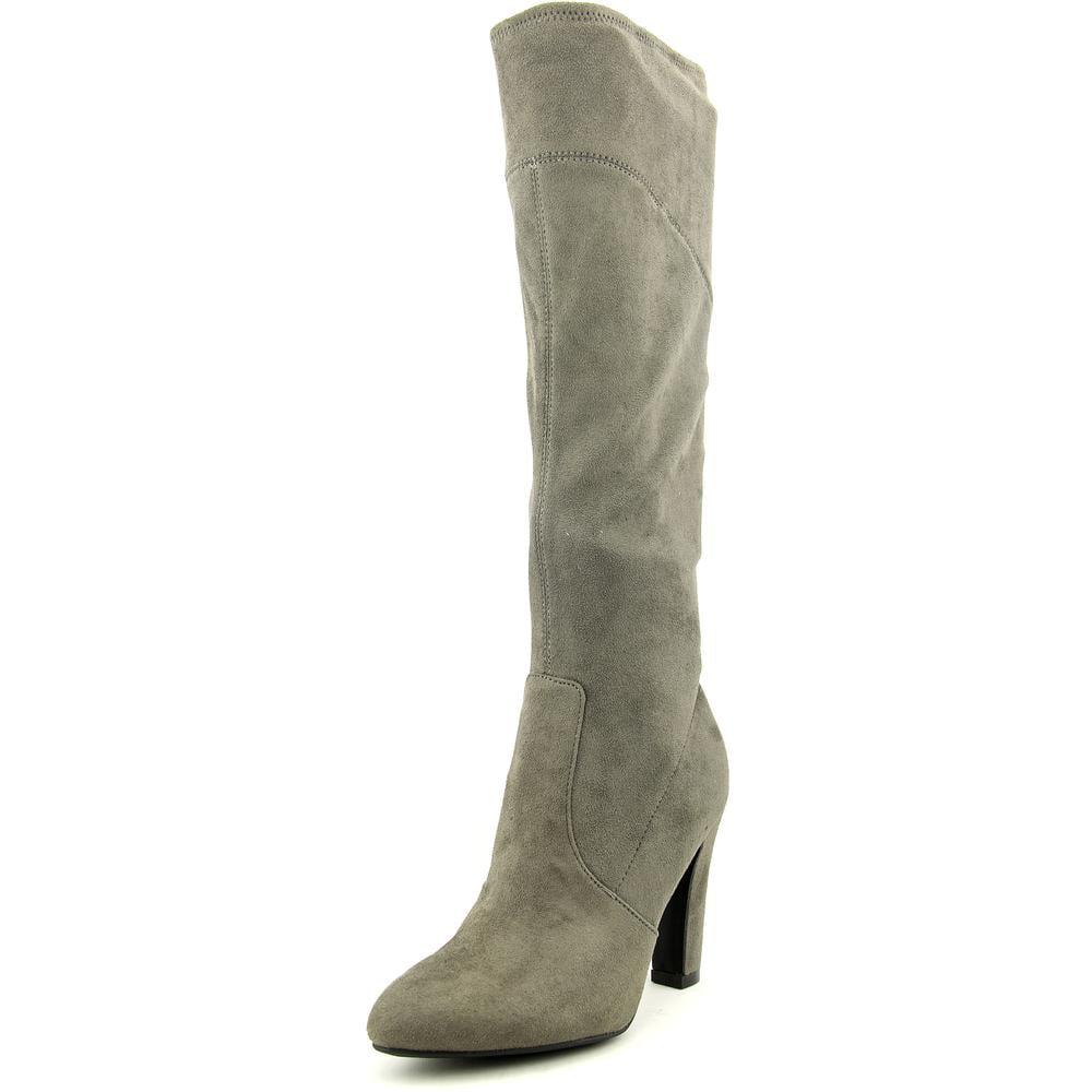 liz claiborne sophier toe suede knee high boot