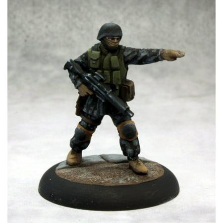 Reaper Miniatures Delta Force Commando #50276 Chronoscope D&D RPG Mini Figure - Miniature Force Sensor
