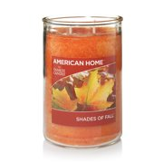 American Home by Yankee Candle Shades of Fall, 19 oz Large 2-Wick Tumbler