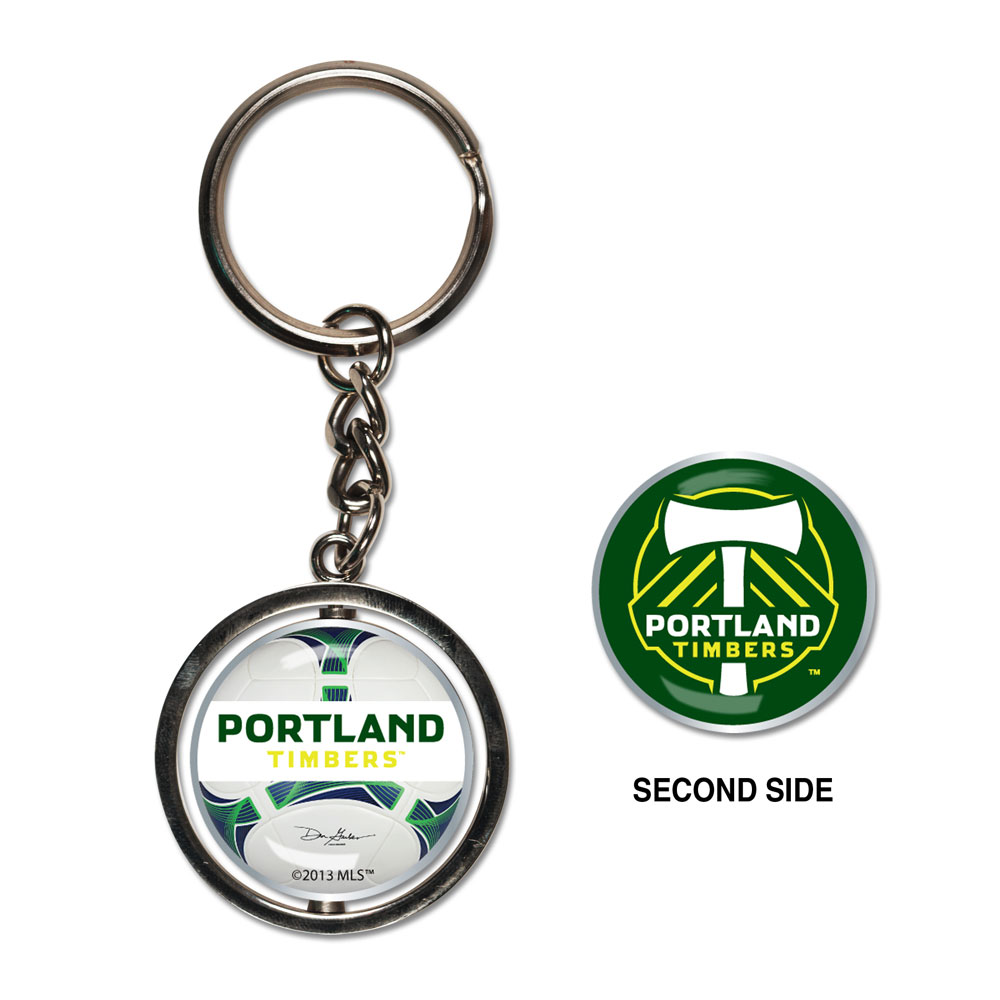Portland Timbers Spinner Keychain (WC)