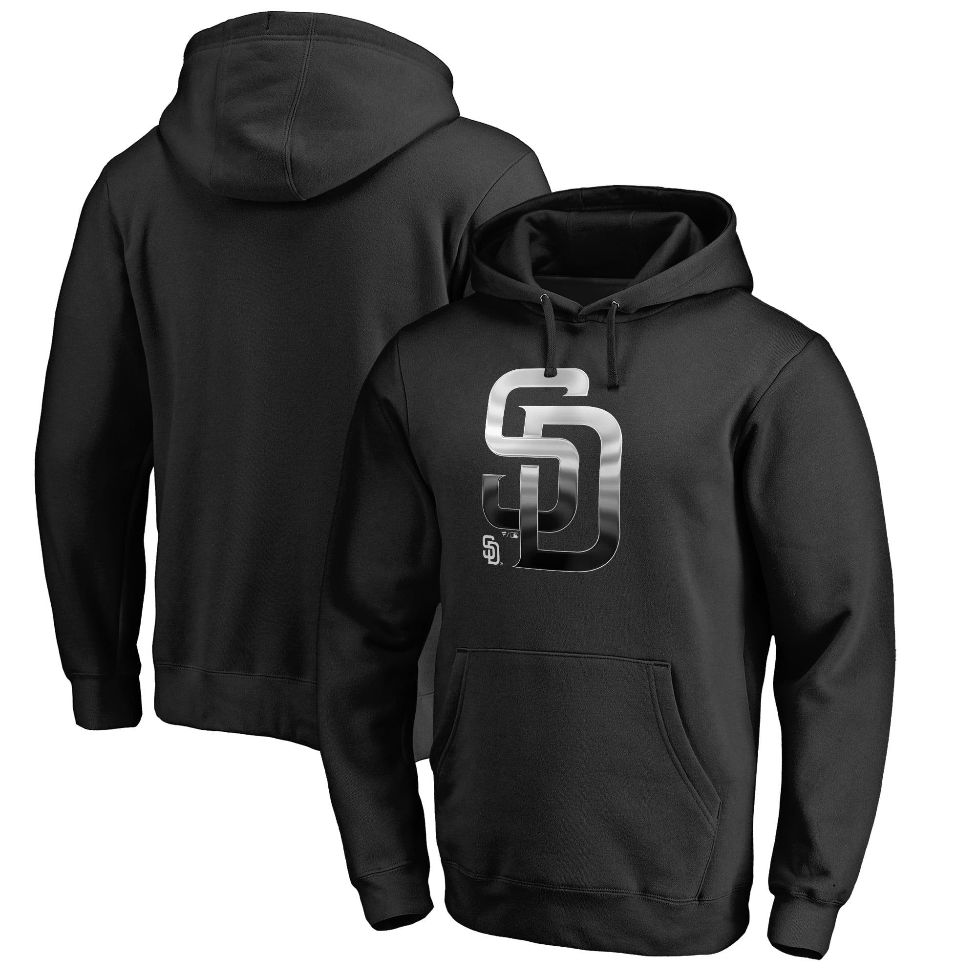 San Diego Padres Fanatics Branded Midnight Mascot Pullover Hoodie - Black