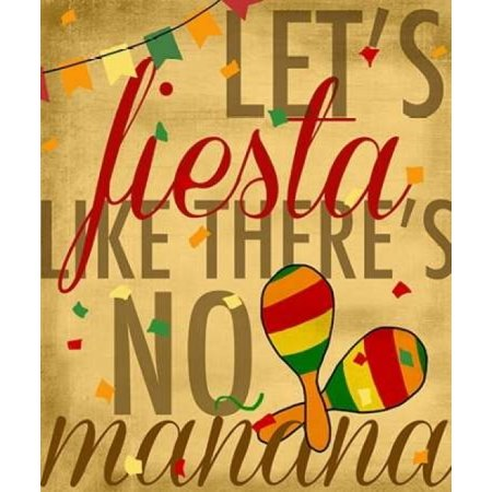 Fiesta Item Shop (Lets Fiesta Poster Print by Anna Quach - Item #)