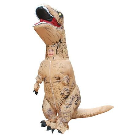 Secondskin Mega Suit Inflatable Kids Zentai Costume   T Rex Dinosaur
