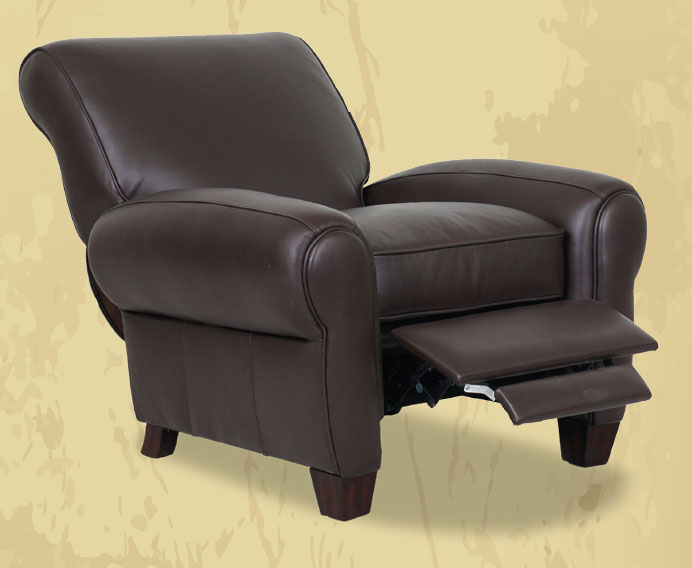 Barcalounger Lectern Oversized Recliner In Chocolate