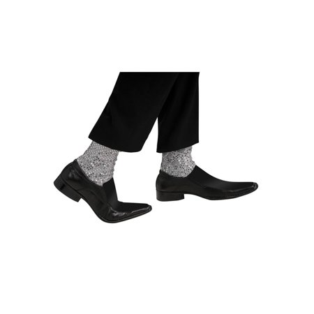 Michael Jackson Sparkle Socks Adult Halloween Accessory - Michael Jackson Makeup Halloween