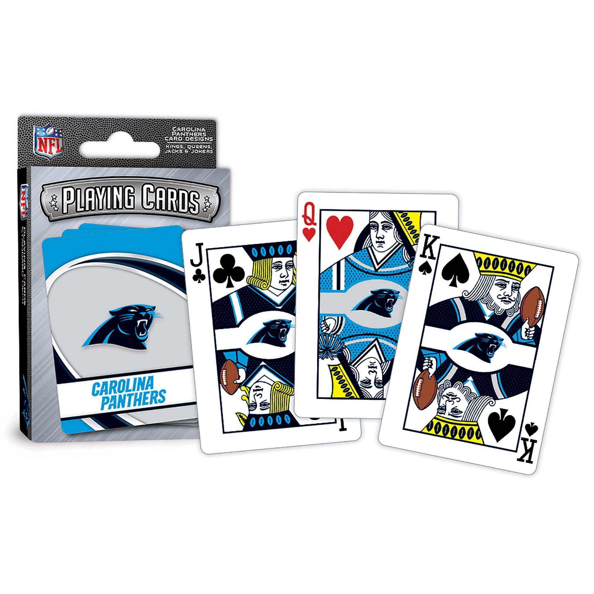 MasterPieces Carolina Panthers Playing Cards