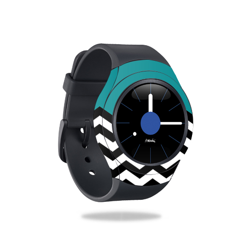 MightySkins Skin For Samsung Gear S2 3G, 3G | Protective, Durable, and Unique Vinyl Decal wrap cover Easy To Apply, Remove, Change Styles Made in the USA