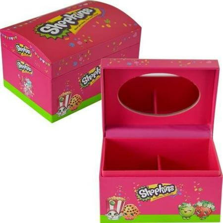 Shopkins Jewelry Box With Mirror 4X3X2.6' ()