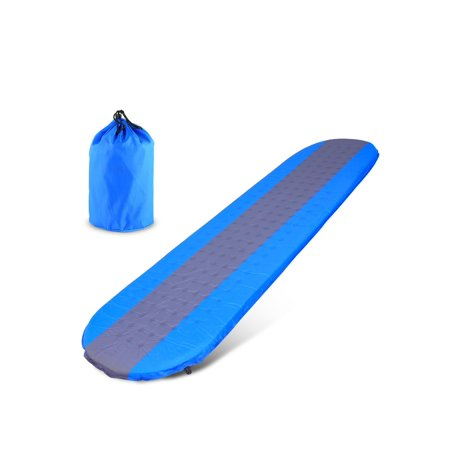 Self Inflating Sleeping Pad Outdoors with Patches and Carrying Bag Ideal for Camping Hiking Traveling