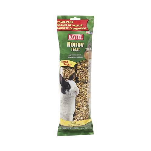Kaytee Pet 100032930 Rabbit Treats, Honey Stick, 8-oz. by KAYTEE PET