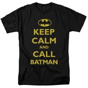 Batman Call Batman Short Sleeve Mens Shirt by Trevco