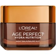 L'Oreal Paris Age Perfect Hydra Nutrition Honey Night Balm Paraben Free, 1.7 oz.