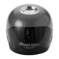 Westcott iPoint Ball Battery Sharpener, Cool Gray
