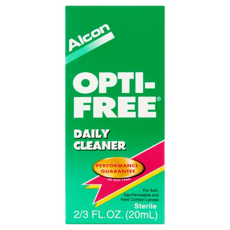 Alcon Opti Free Daily Cleaner For Soft Contact Lens Care   66 Fl Oz