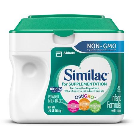 Similac for Supplementation, Powder, NON-GMO, 23.2 oz