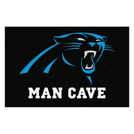 NFL - Carolina Panthers Man Cave Starter Rug 19