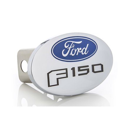 Ford F 150 Metal Trailer Hitch Cover Plug (2 inch post)