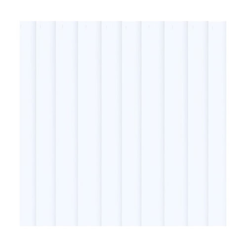 "5: PVC Vertical Blind Replacement Slat Smooth (WHITE) 84"" x 3 1 2"" by"
