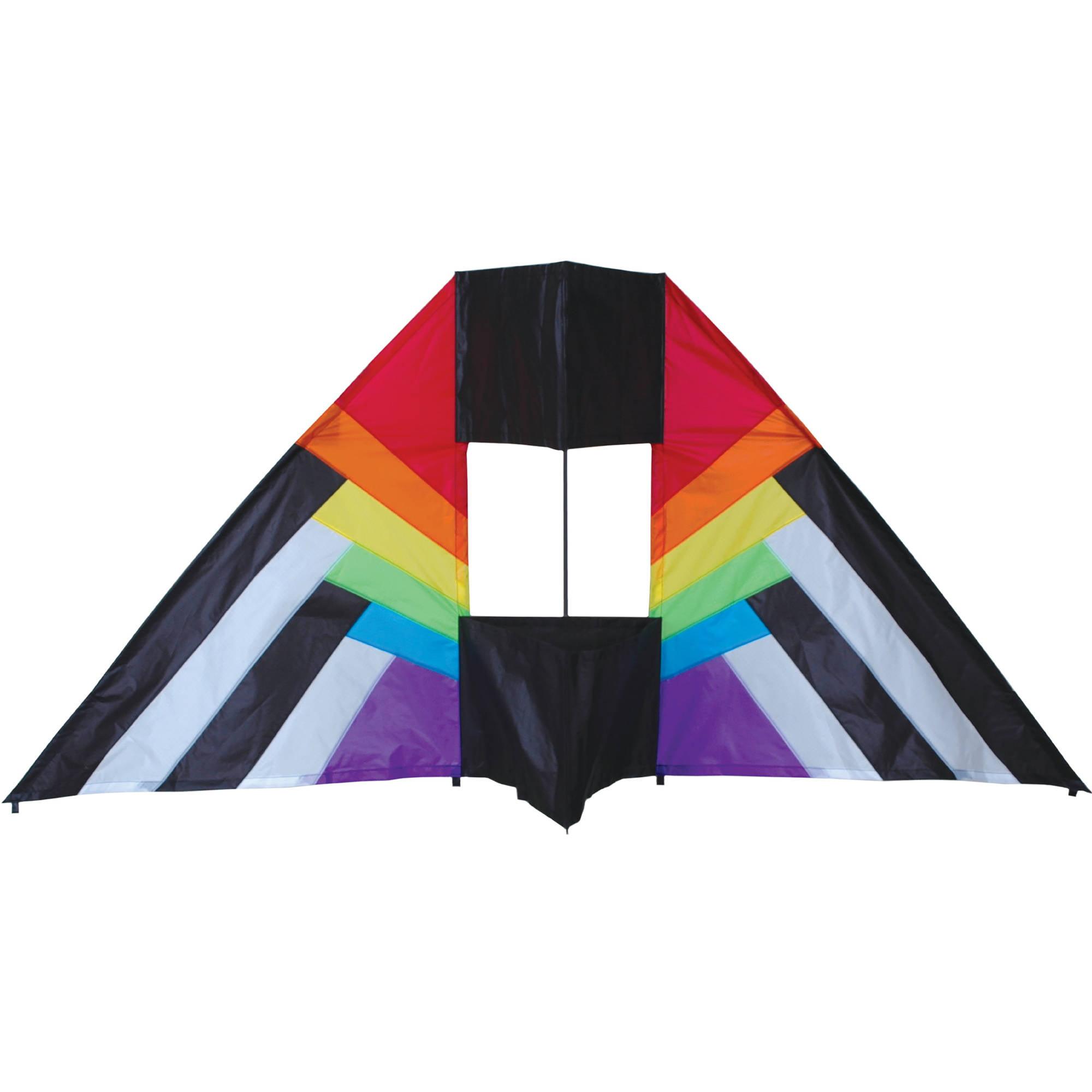 Premier Designs 5.5' Box Delta Kite, RB Spectrum by Premier Kite